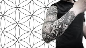 Getting A Full Sleeve Sacred Geometry Tattoo In Mexico City