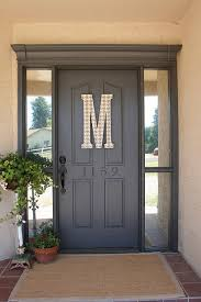front door lettersDecorative Letters  Driven by Decor