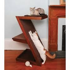 cat modern furniture. tranquil cat bed lounge and scratcher modern furniture r