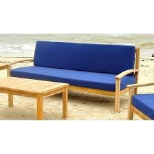 teak outdoor sofa with cushions used furniture sydney
