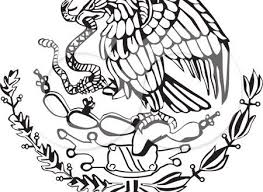 mexican flag eagle. Fine Eagle How To Draw The Eagle On Mexican Flag About Collections Inside E