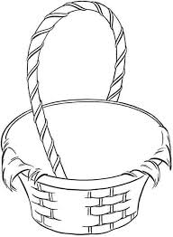 Small Picture Best Photos of Easter Basket Coloring Template Easter Basket