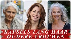 Leuke Kapsels Lang Haar Oudere Vrouwen
