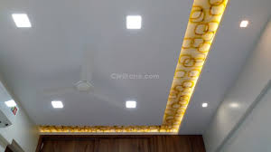 false ceiling cost installation rates