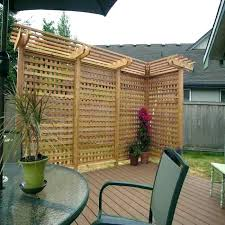 Free standing outdoor privacy screens Cedar Garden Privacy Screen Garden Privacy Screens Bamboo Outdoor Privacy Screen Beautiful Wooden Privacy Screen For Outdoor Empress Of Dirt Garden Privacy Screen Garden Privacy Screens Bamboo Outdoor Privacy