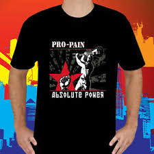 Power Pro Size Chart Details About New Pro Pain Absolute Power Rock Band Mens Black T Shirt Size S To 3xl