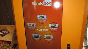 Burrito Vending Machine Awesome We Tried A Futuristic Burrito Vending Machine Called 'Burrito Box