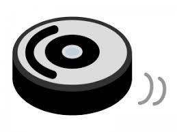ロボット掃除機のイラスト イラスト無料かわいいテンプレート