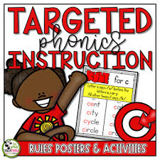 Phonics Generalizations Chart Phonics Rules Posters Spelling Rules Generalizations Interactive Activities