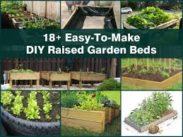 18 simple diy raised garden beds