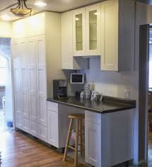 Tall White Kitchen Pantry Cabinet Diy Tall Kitchen Pantry Cabinets