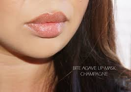 bite beauty agave lip mask in chagne