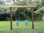 Детские качели для двора
