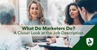 What Do Marketers Do? A Closer Look at the Job Description | Rasmussen  University