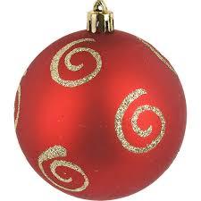 Набор рождественских <b>шаров Monte Christmas</b> 8 см 4 шт пластик ...
