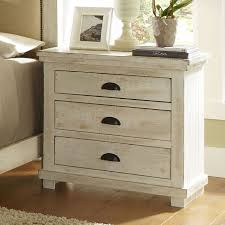 rustic white nightstand. Willow Nightstand Distressed White To Rustic