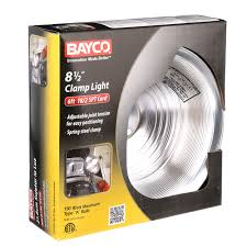 Gro Lux Lights Walmart Bayco Sl 300 8 5 Inch Clamp Light With Aluminum Reflector