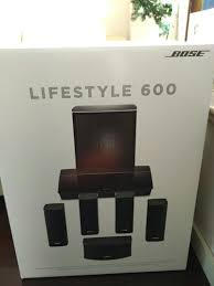 bose lifestyle 600. new bose lifestyle 600 home entertainment system 5.1 all surround speaker set jewel cube speakers bose