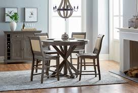 image of bar height dining table set