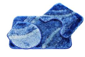 blue bathroom rug sets with designs astrid