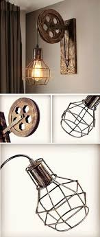 diy industrial lighting. Coole Vintage Lampe Im Industrial Style. #vintage #lampen #industrial #affiliate Diy Lighting