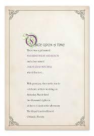 best 25 fairytale wedding invitations ideas on pinterest Time In Wedding Invitation story book ending wedding invitations by invitation consultants (item ic gd time lapse wedding invitation