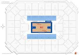 Allen Fieldhouse General Admission Seating Chart 2019
