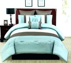 duck egg blue and brown bedding sets uk duvet cover king cotton set solid comforter