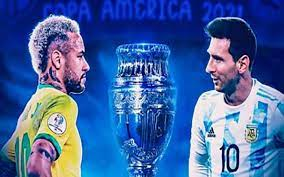 مواجهة صعبة بين البرازيل والأرجنتين فى نهائى كوبا أمريكا