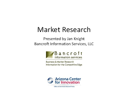 Market Reserach for Technology and Science-based Startups