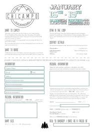 Free Boot Camp Proposal Template Youth Ministry Templates