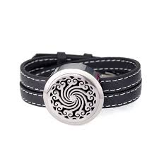 china stainless steel essential oil jewellry diffuser bangle aromatherapy leather bracelet china aromatherapy leather bracelet essential oil bracelet
