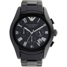 buy emporio armani ceramic black mens chronograph watch ar1400 uk armani watches ceramic black mens chronograph watch ar1400