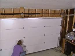 12 foot wide garage doorInstalling a Garage Door  howtos  DIY