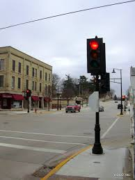 Traffic Light Pole Visco Inc Decorative Cast Iron Pole With Traffic Signal