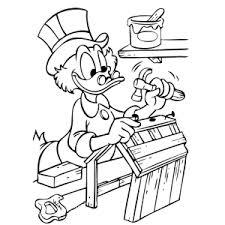 Leuk Voor Kids Dagobert Duck Kleurplaten