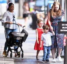 Cindi leive, chelsea clinton, lena dunham & america ferrera from the big picture: Chelsea Clinton Makes Rare Appearance With All 3 Of Her Kids