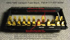 thesamba com vanagon view topic 81 vanagon fuse panel diagram image have been reduced in size click image to view fullscreen