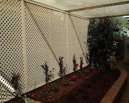 vinyl lattice fence panels. Matrix Plastic Lattice Vinyl Fence Panels L