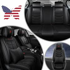 breathable black car seats cover luxury