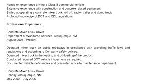 Resume Truck Driver Position Dump Truck Driver Resume Mazard Info