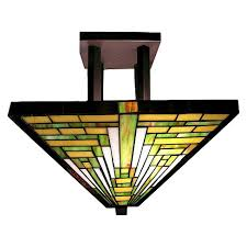 stained glass ceiling light. About This Item Stained Glass Ceiling Light