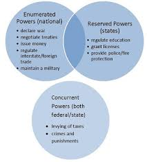 The Federal In Federalism Venn Diagram Answers Reserved Powers Definition Examples Video Lesson Transcript