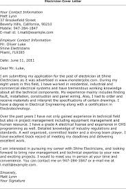 28+ [ Sample Electrician Resume Cover Letter ] | Sample Journeyman ...