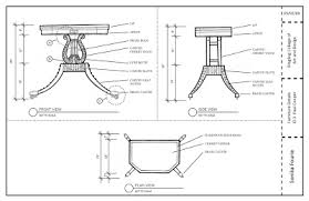 furniture design drawings. we had to do hand drawings of the piece and close-ups demonstrating detailing joinery all with dimensions callouts. furniture design