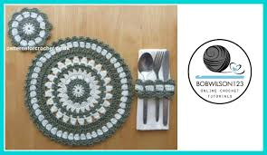 Free Crochet Placemat Patterns Magnificent Crochet Placemat Tutorial YouTube