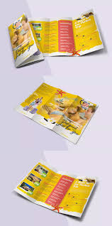 Trifold Brochure Size Travel Trifold Brochure Template Psd A4 Us Letter Size Brochure