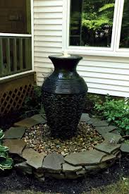 best outdoor fountains ideas on outdoor water