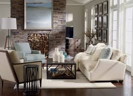 Living Room Rustic Decorating Rustic Chic Living Room Ethan Allen