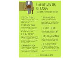 Interview Dos And Don Ts New Teacher Job Interview Dos And Donts The Education Of